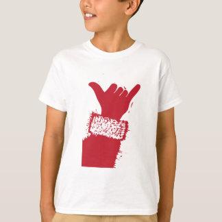 Santa Shaka Hand T-Shirt