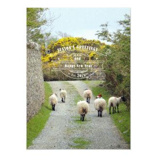 Santa Sheep Card