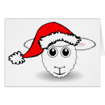 Santa Sheep Card