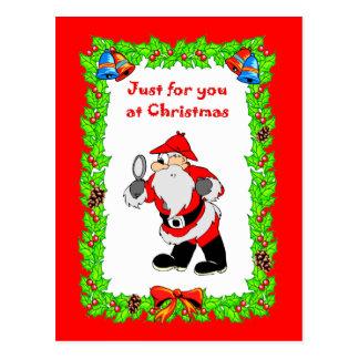 Santa Sherlock Postcard