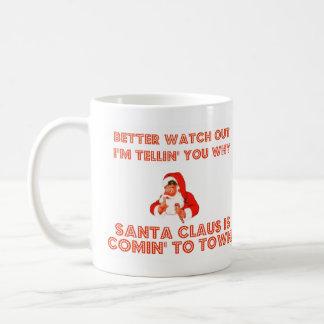 santa_shhh, santa_shhh coffee mug