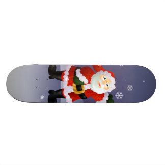 Santa Skateboard Deck