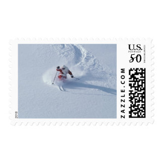 Santa Skiing at Snowbird Ski Resort, Wasatch Postage