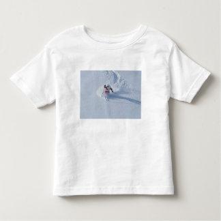 Santa Skiing at Snowbird Ski Resort, Wasatch T Shirt