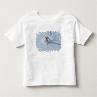 Santa Skiing at Snowbird Ski Resort, Wasatch Toddler T-shirt