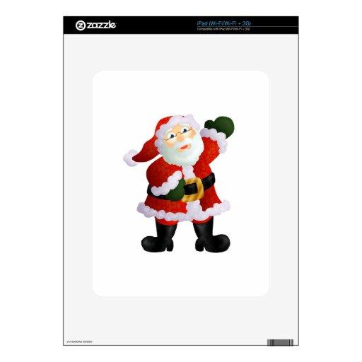 Santa Skin Para El iPad