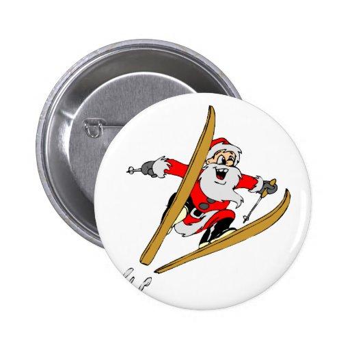 Santa sking pin