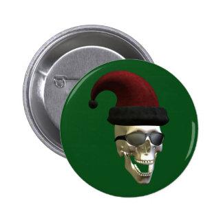 Santa Skull Buttons
