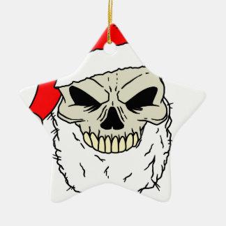 Santa Skull Christmas Tree Ornaments