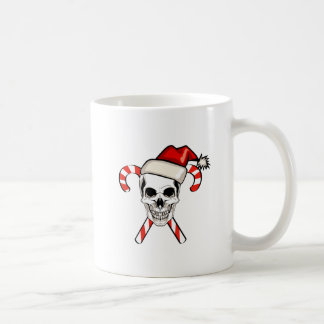 Santa Skull Coffee Mug