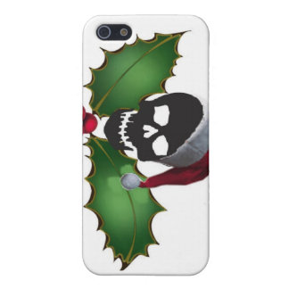 SANTA SKULL COVER FOR iPhone SE/5/5s