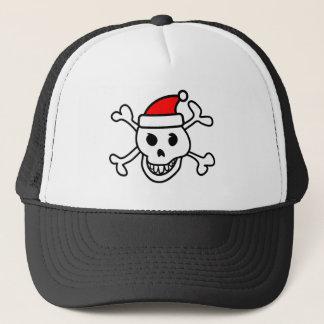 Santa skull hat