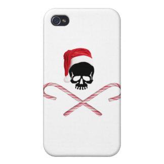Santa Skull iPhone 4/4S Case