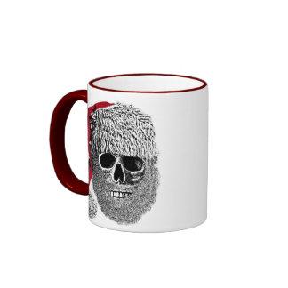 Santa skull ringer mug