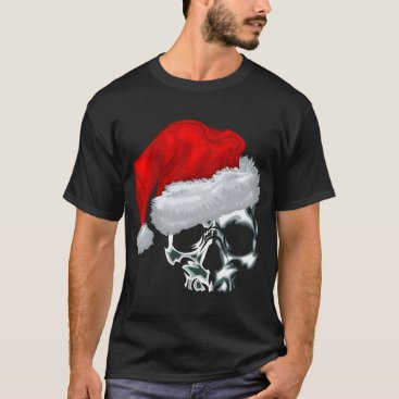 implexity Santa Skull T-Shirt