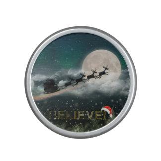 Santa Sleigh Reindeer Christmas portable speaker