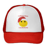 Santa Smiley Christmas cards and gifts. Hat
