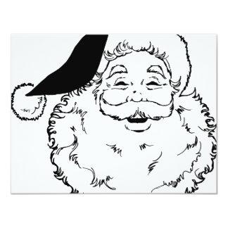 Santa Smiling Card