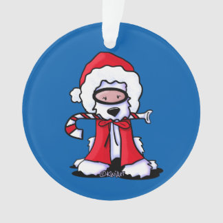 Santa Snorkel Westie