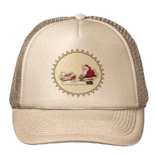 Santa Snowball Fight Christmas Hat