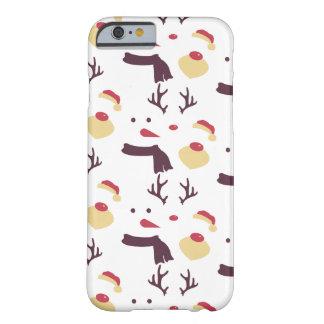 Santa Snowman Reindeer iPhone 6 Case