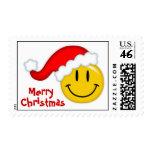 Santa sonriente sellos