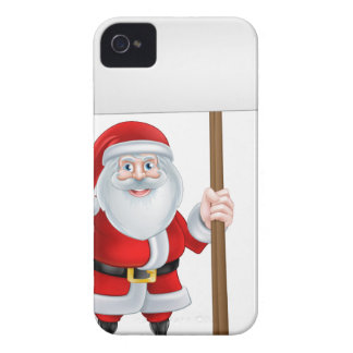 Santa Spanner Sign iPhone 4 Covers