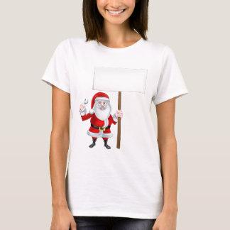 Santa Spanner Sign T-Shirt