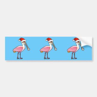 Santa Spoony Bumper Sticker