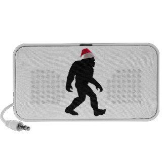 Santa Squatch el Bigfoot original Santa Laptop Altavoz
