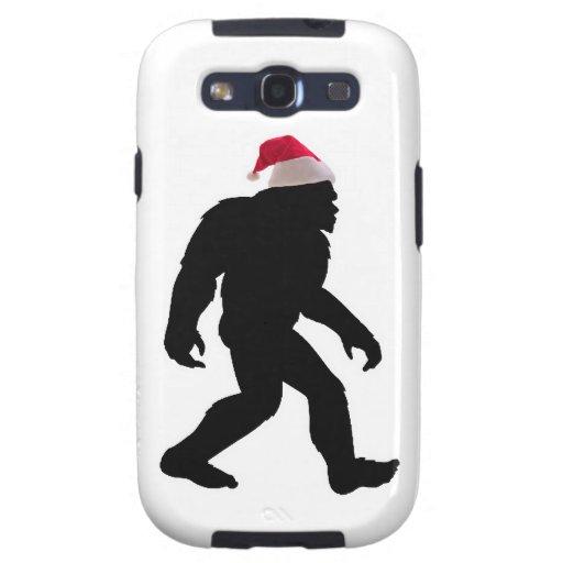 Santa Squatch, The Original Bigfoot Santa Galaxy SIII Covers