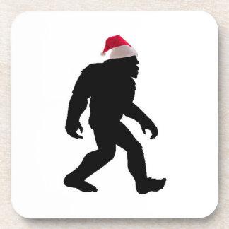 Santa Squatch, The Original Bigfoot Santa Drink Coaster