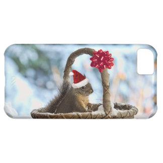 Santa Squirrel in Snow Cover For iPhone 5C