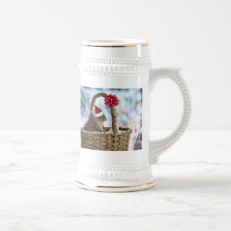 Santa Squirrel in Snow Coffee Mug