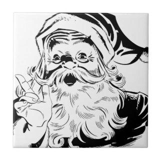 Santa St. Nick Holiday Winter Happy Destiny Season Ceramic Tiles