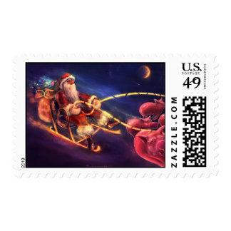 Santa - Stamps