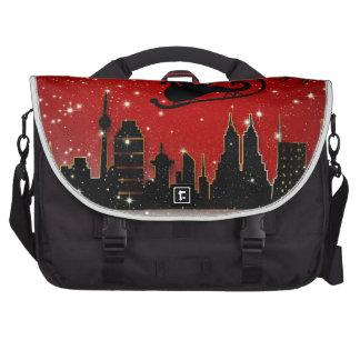 Santa & Starry Night Destiny Holidays Laptop Bags