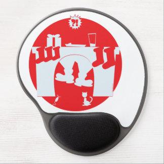 Santa Stuck Gel Mouse Pad