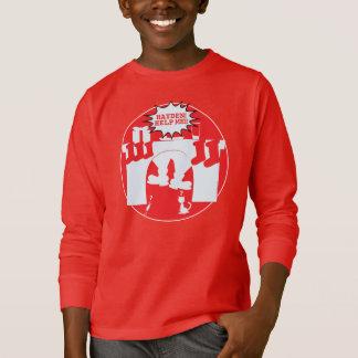 Santa Stuck. Help Hayden!! T-Shirt