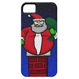 Santa Stuck In Chimney iPhone SE/5/5s Case