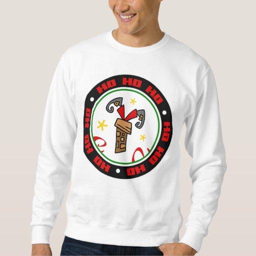 Santa Stuck in Chimney Sweatshirt
