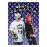 Santa Sucks Christmas Card