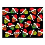 Santa Sugar Skull Post Cards