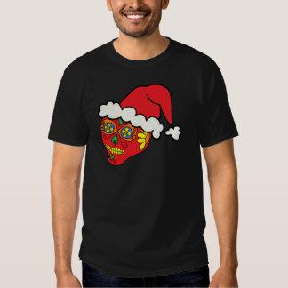 Santa Sugar Skull Shirt