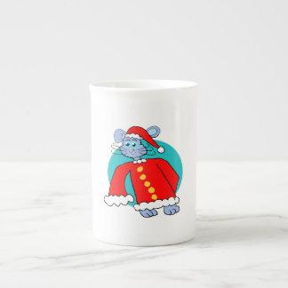 Santa Suit Bunny Tea Cup