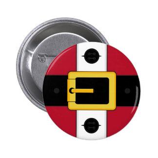 Santa Suit Christmas Button Badge