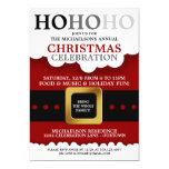 "Santa Suit Christmas Party 5"" X 7"" Invitation Card"