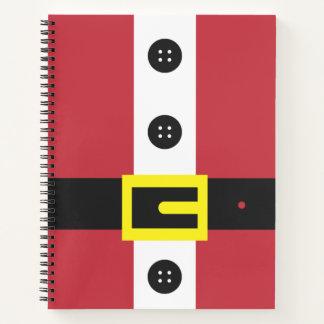 Santa Suit Notebook