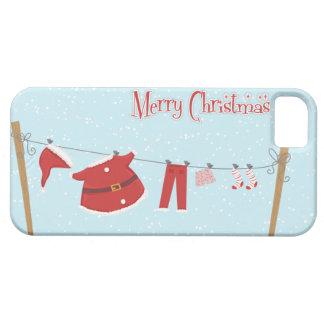 Santa Suit on Clothesline iPhone 5 Case