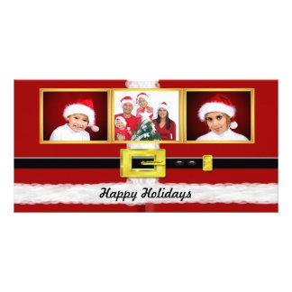 Santa Suit Photo Card